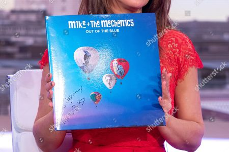 Mike Rutherford - Signed Mike and the Mechanics Album