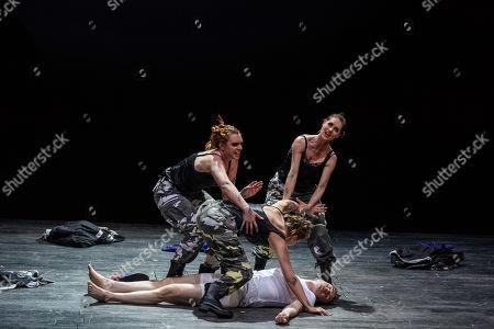 Katie Stevenson (Third Lady), Samantha Price (Second Lady), Susanna Hurrell (First Lady), Rupert Charlesworth (Tamino)