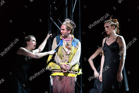 Editorial photo of 'The Magic Flute' play, English National Opera, London Coliseum, London, UK - 12 Mar 2019
