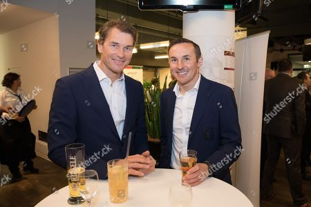 Co-Tainer Jens Lehmann (FC Augsburg) and Co-Tainer Tobias Zellner (FC Augsburg), Casino Night FC Augsburg, 13.03.2019