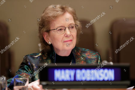 Mary Robinson Chair of the Elders