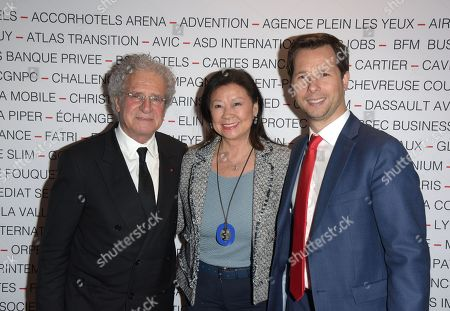 Laurent Dassault et Jeanne d Hauteserre et Harold Parisot