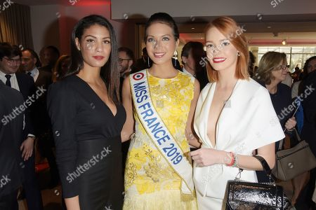 Chloe Mortaud et Viamalama Chaves et Maeva Coucke