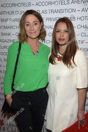 Daniela Lumbroso et Séverine Ferrer
