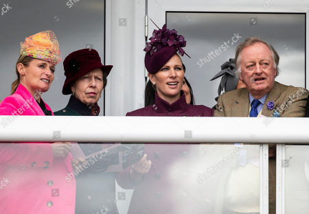 Dolly Maude, Princess Anne, Zara Tindall, Andrew Parker Bowles.