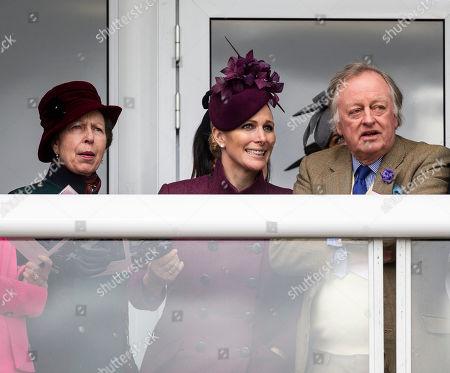 Princess Anne, Zara Tindall, Andrew Parker Bowles.