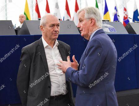 Richard Corbett, Michel Barnier