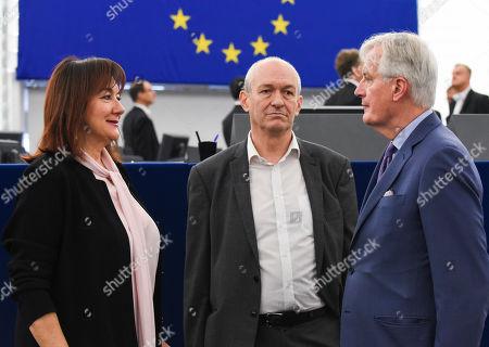 Dubravka Suica, Richard Corbett, Michel Barnier
