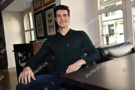 Italian ballet dancer Roberto Bolle, Etoile dancer at Milan's La Scala Theatre Ballet, poses for a photo prior to a press conference on the Sky Arte TV program 'Questa notte mi hai aperto gli occhi' (lit.: You opened my eyes tonight), in Milan, Italy, 13 March 2019. The four-part documentary will start broadcasting from 16 March on.