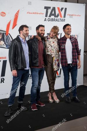 Stock Picture of Alejo Flah, Dani Rovira, Ingrid Garcia- Jonsson, Joaquin Furriel