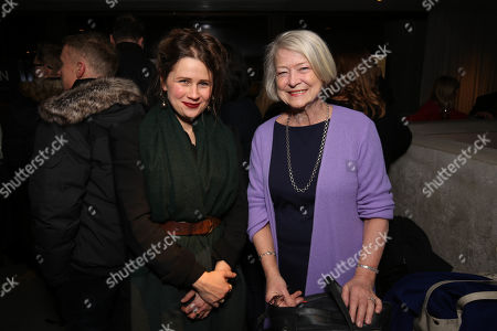 Lucy Kirkwood and Kate Adie
