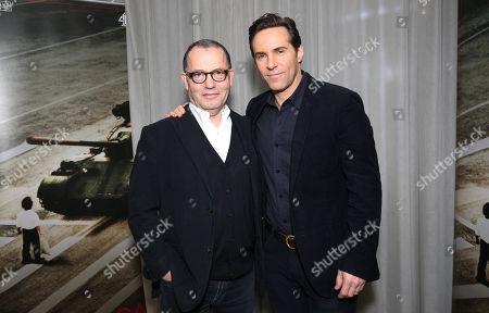 Colin Callender (Exec Producer) and Alessandro Nivola (Lead Actor)