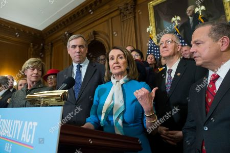 Editorial photo of Democratic leaders of the House and Senate will hold a press event to introduce The Equality Act, Washington, USA - 13 Mar 2019