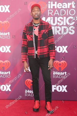 Editorial image of iHeartRadio Music Awards, Arrivals, Microsoft Theater, Los Angeles, USA - 14 Mar 2019