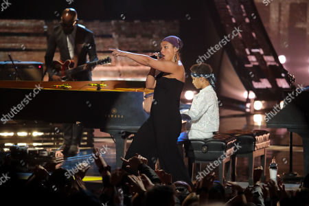 Stock Picture of Egypt Daoud Dean and Alicia Keys