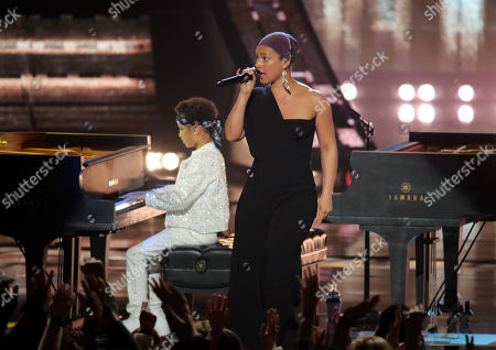 Stock Photo of Egypt Daoud Dean and Alicia Keys