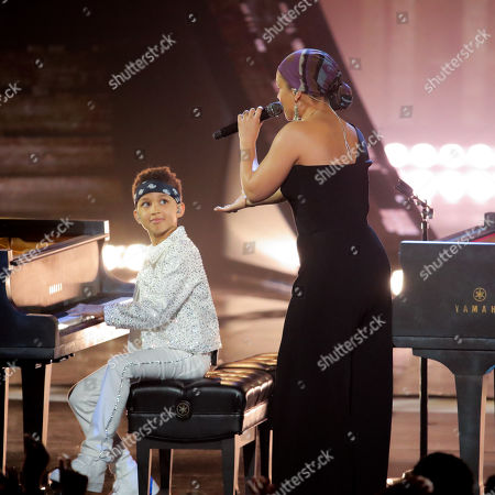 Stock Image of Egypt Daoud Dean and Alicia Keys