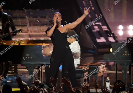 Editorial picture of iHeartRadio Music Awards, Show, Microsoft Theater, Los Angeles, USA - 14 Mar 2019