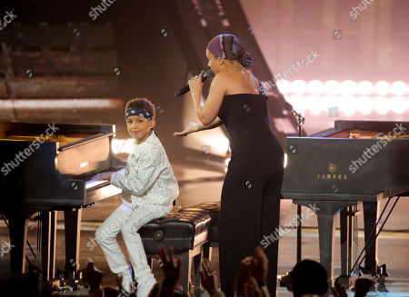 Editorial image of iHeartRadio Music Awards, Show, Microsoft Theater, Los Angeles, USA - 14 Mar 2019