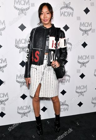 Editorial image of MCM Beverly Hills Store Opening, Arrivals, Los Angeles, USA - 14 Mar 2019