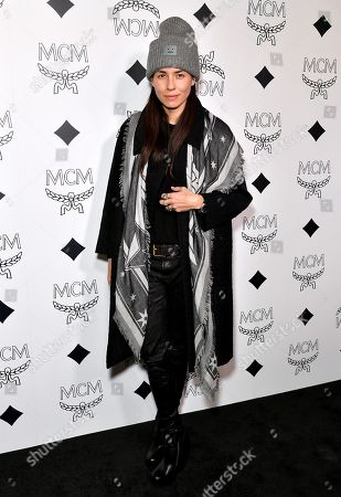 Editorial picture of MCM Beverly Hills Store Opening, Arrivals, Los Angeles, USA - 14 Mar 2019