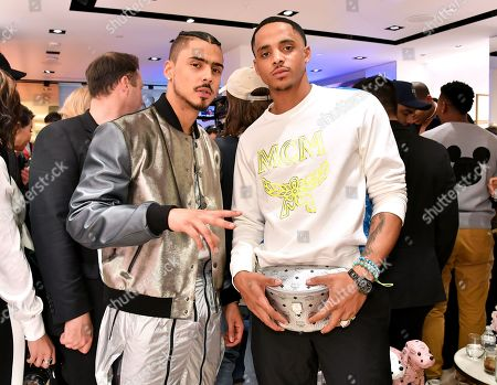 Editorial picture of MCM Beverly Hills Store Opening, Inside, Los Angeles, USA - 14 Mar 2019