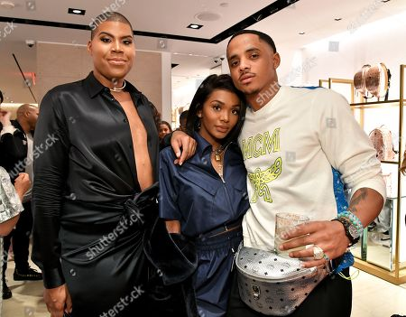EJ Johnson, Cordell Broadus and guest