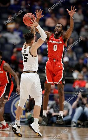 Editorial photo of SEC Missouri Georgia Basketball, Nashville, USA - 13 Mar 2019