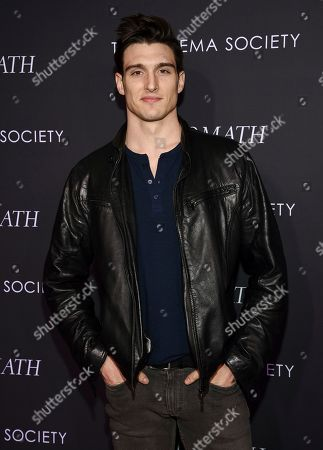 "Garrett Neff attends a special screening of Fox Searchlight Pictures' ""The Aftermath"" at The Whitby Hotel, in New York"