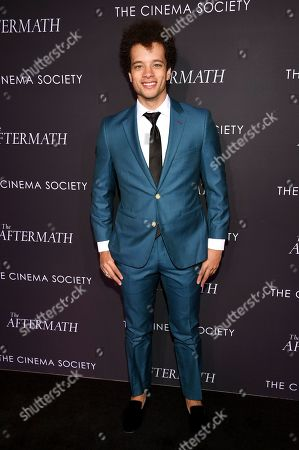 "Damon J. Gillespie attends a special screening of Fox Searchlight Pictures' ""The Aftermath"" at The Whitby Hotel, in New York"