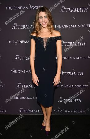 "Sarah Megan Thomas attends a special screening of Fox Searchlight Pictures' ""The Aftermath"" at The Whitby Hotel, in New York"