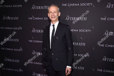 "James Kent attends a special screening of Fox Searchlight Pictures' ""The Aftermath"" at The Whitby Hotel, in New York"
