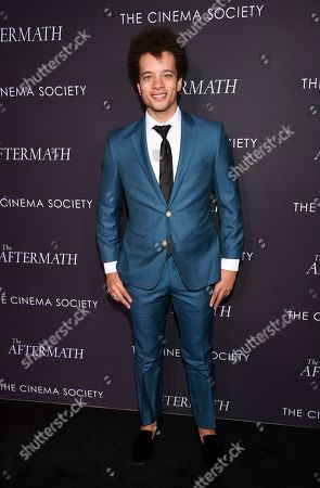 "Damon Gillespie attends a special screening of Fox Searchlight Pictures' ""The Aftermath"" at The Whitby Hotel, in New York"