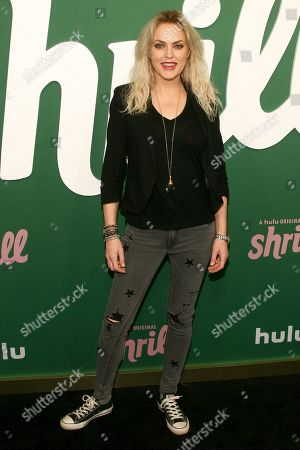 """Elaine Hendrix attends the premiere of Hulu's """"Shrill"""" at the Walter Reade Theater, in New York"""