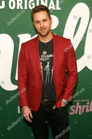 "Dan Amboyer attends the premiere of Hulu's ""Shrill"" at the Walter Reade Theater, in New York"