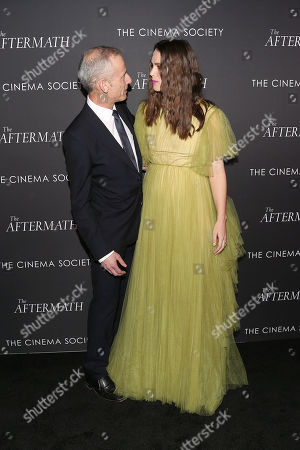 James Kent (Director) and Keira Knightley