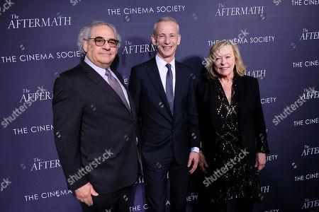 Stock Image of Steve Gilula, James Kent (Director) and Nancy Utley