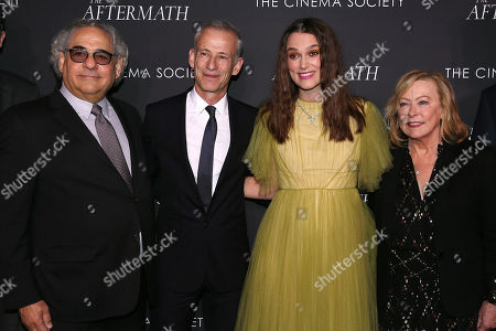 Steve Gilula, James Kent (Director), Keira Knightley and Nancy Utley