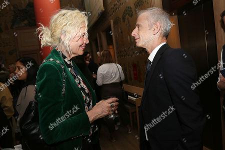 Ellen Von Unwerth and James Kent (Director)