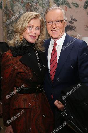 Stock Image of Ellen  Scarborough  and Chuck Scarborough