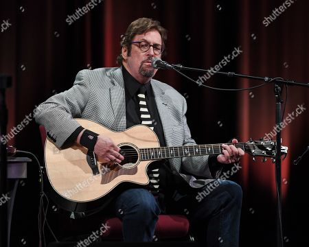 Editorial photo of Stephen Bishop in concert at the Crest Theatre at Old School Square, Delray Beach, USA - 13 Mar 2019