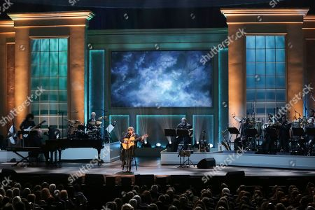 Jose Feliciano performs on stage during the Library of Congress Gershwin Prize tribute concert held at DAR Constitution Hall, in Washington