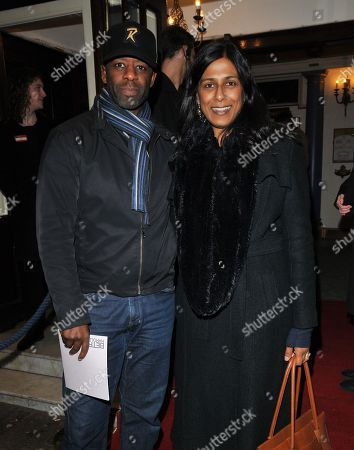 Adrian Lester and Lolita Chakrabarti