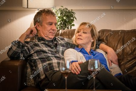 Richard Huw as Tom and Lindsey Coulson as Penny