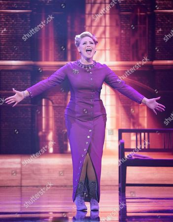 Stock Picture of Amy Hughes performs
