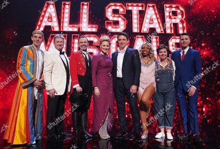 Martin Lewis, Alan Titchmarsh, Daniel Brocklebank, Amy Hughes, John Barrowman, London Hughes, Tessa Peake-Jones and Joel Dommett.