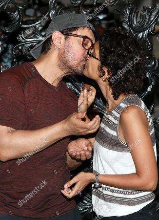 Editorial image of Aamir Khan birthday celebration in Mumbai, India - 14 Mar 2019