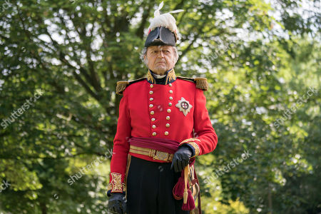 Stock Photo of Peter Bowles as Duke Of Wellington.