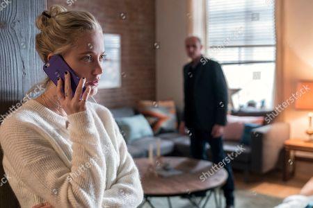 Maika Monroe as Erica Penn and Colm Feore as Chris McCullen