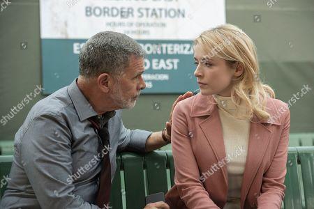 Tony Plana as Devante and Sarah Bolger as Emily Thomas